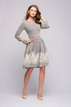 Серое платье купить в Воронеже