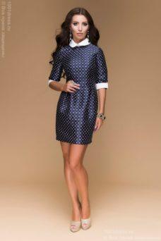Платье с белым воротником купить в Воронеже