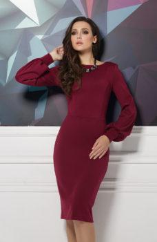 Платье бордовое воронеж