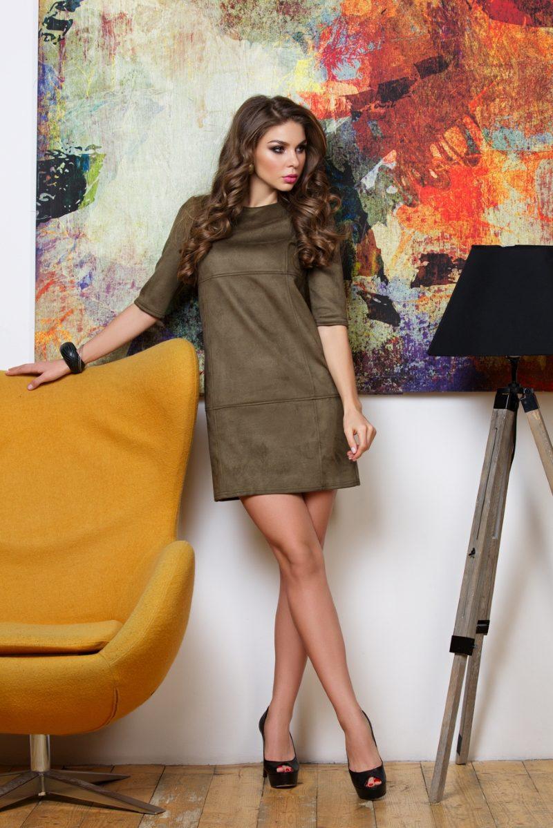 Платье цвета хаки купить в Воронеже