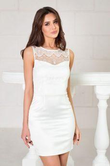Купить Свадебное платье-трансформер 2 в 1 цвета айвори в магазине женской одежды в Воронеже