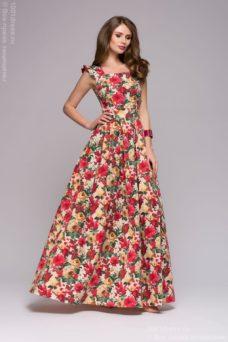 Купить Длинный сарафан в магазине женской одежды в Воронеже