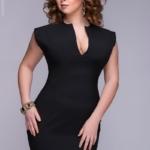 Маленькое черное платье DM00015BK-4