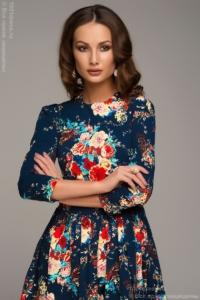 Заказать синее платье с доставкой по Воронежу