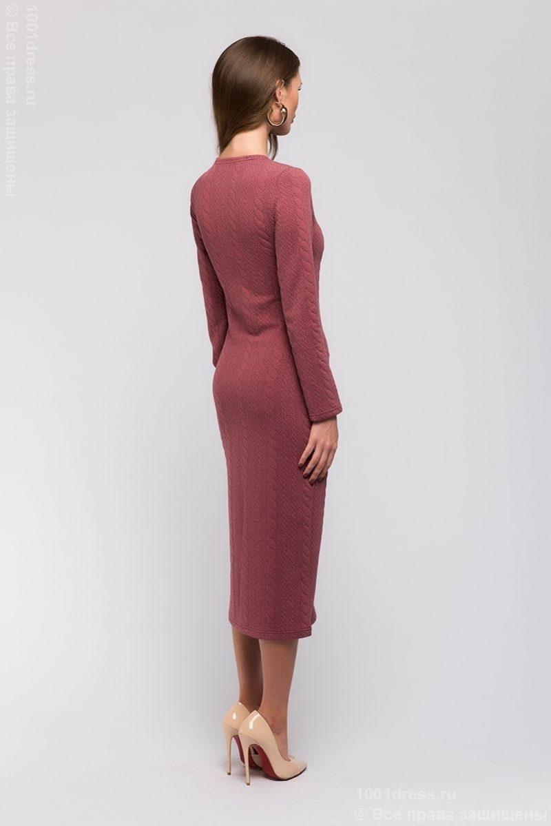 Заказать теплое платье из трикотажа в Воронеже с бесплатной доставкой