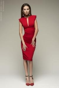 красно платье-футляр купить в Воронеже