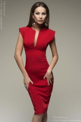 Купить красное платье-футляр в Воронеже с доставкой