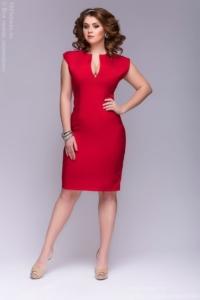 Заказать платье-футляр красного цвета в Воронеже