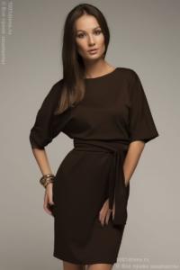 Платье шоколадного цвета купить в Воронеже