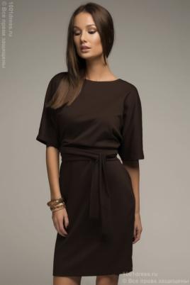 Купить платье шоколадного цвета с доставкой по Воронежу