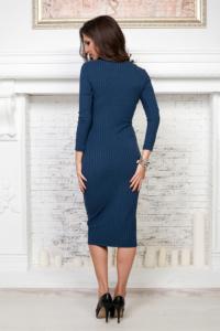 Купить синее платье лапша в интернет-магазине