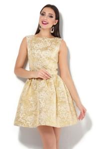 Золотое платье купить в интернет-магазине в Воронеже