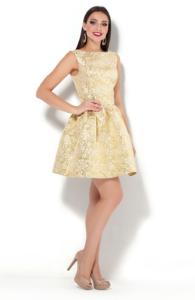 Заказать золотое платье с бесплатной доставкой по Воронежу