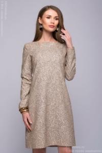 Бежевое платье купить в Воронеже