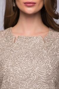 Купить бежевое платье в магазине женской одежды в Воронеже