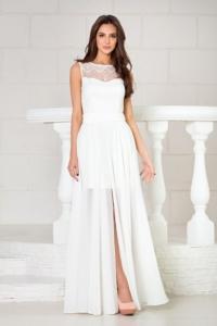 Свадебное платье-трансформер 2 в 1 цвета айвори купить в интернет-магазине