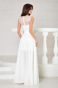 Свадебное платье-трансформер 2 в 1 цвета айвори заказать с бесплатной доставкой по России