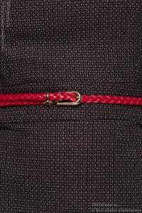 Плетеный ремень красного цвета купить в Воронеже