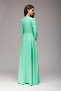 Купить Вечернее платье в пол мятного цвета в магазине женской одежды в Воронеже