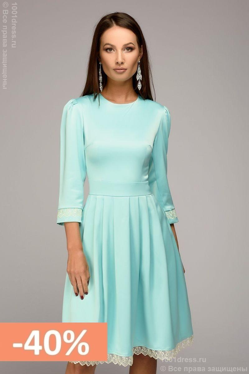 купить платье 3 4