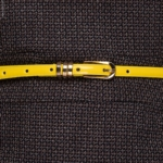 Ремень желтый узкий bt00020yl