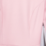 Нежно-розовое платье с расклешенной юбкой и длинными рукавами vv51481pk-4