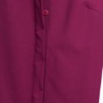 Платье-рубашка длины миди бордового цвета с длинными рукавами vv51525bo-5