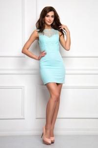 Платье-трансформер 2 в 1 мятного цвета заказать в интернет-магазине