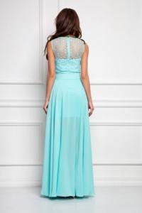 Заказать Платье-трансформер 2 в 1 мятного цвета с бесплатной доставкой по России