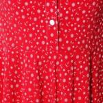 Красное платье миди с рубашечным верхом и морским принтом sz00108rd-4