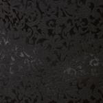Черное платье-футляр из жаккарда с вырезом на груди vv51664bk-4
