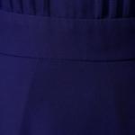 Темно-синее платье миди с расклешенной юбкой и длинными рукавами vv51579bl-4